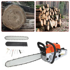 More details for 2-stroke 52cc petrol chainsaw easy start 20-inch e-start chain saw 20