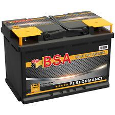 Autobatterie 12V 85Ah +30% Startkraft Starterbatterie Auto Batterie ersetzt 80Ah