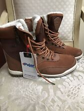 PAJAR CANADA Men's Boots Waterproof Leather Brown  NWT (12-12.5)US / 45EUR