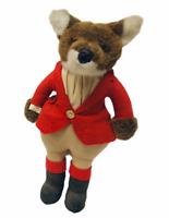 1982 Vintage Little Folk Renard Fox Huntsman Stuffed Animal Doll Rare