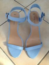 Ladies Sandals By New Look Size 8 Powder Blue