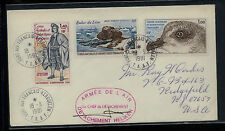 French  Antarctic  83,97     on  cover  1981  signed            KEL1005