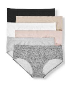 Secret Treasures Women's Hipster Panties Sz 2X/12 Full Figure 6 Pack Seamless