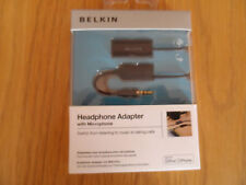 Belkin headphone Adapter with Microphone