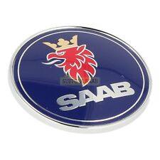 SAAB 93 9-3 9400 98-03MY SAAB SCANIA Cofano Badge 5289871 NUOVO ORIGINALE SUFFOLK