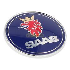 SAAB 93 9-3 9400 98-03MY SAAB BONNET BADGE 5289871 NEW GENUINE SUFFOLK RARE
