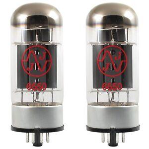 JJ/Tesla 6550 Power Tubes, Matched Pair