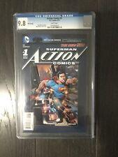 ACTION COMICS # 1 5th Printing / The new 52! / CGC Universal 9.8 /  May 2012