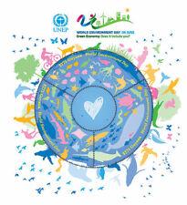 Guyana - 2013 - un Monde Environnement Jour - Feuille de 3 - MNH