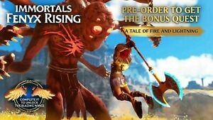Immortals Fenyx Rising DLC A Tale Of Fire And Lightning - PS4/PS5/XBOX/PC/Switch
