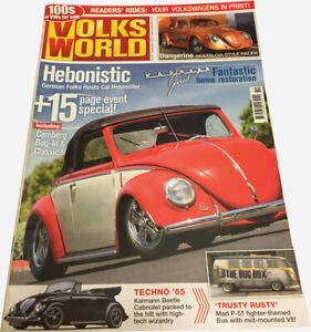 Volks World Magazine -September 2007 - BEETLE BUG BUS KOMBI VW CAMPER