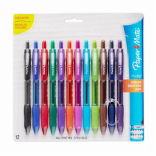 Paper Mate Profile Retractable Ballpoint Pens, Bold (1.4mm), Assorted  Colors, 12 Count - Walmart.com