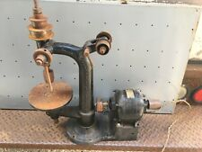 Antique Cast Iron Small Size Champion Electric Bench Top Drill Press Machine