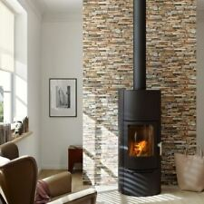 NEW AS CREATION WOOD N STONE RURAL SLATE NATURAL STONE PHOTO A.S. WALLPAPER