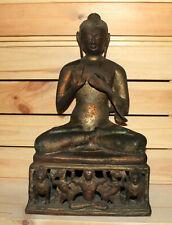 Vintage hand made brass/bronze Gautama Buddha statuette