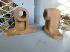 """Antique Hit And Miss Engine Cart Rear Axle To Frame Mounts For 1-1/16"""" Axle"""