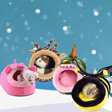 Hamster Nest Spielzeug Giraffe Schwein Krokodil Ratte  Eichhörnchen Guinea Pig~