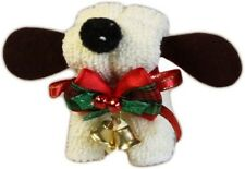 Christmas Dog Gift Towel - Ivory