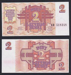 Lettonia 2 rubli 1992 FDS/UNC  C-08