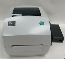 Zebra Tlp2844 Barcode Label Thermal Printer Parallel Usb Port With Ps T1