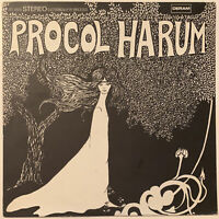 PROCOL HARUM SELF TITLED LP DERAM USA FIRST PRESS 1967 PRO CLEANED