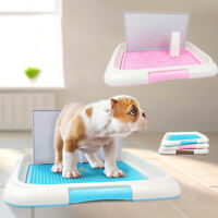 ALS_ Dog Indoor Toilet Potty Puppy Trainer Pad Holder Mesh Lattice Tray Accessor