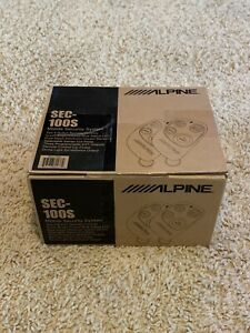 ALPINE SEC-100S CAR SECURITY ALARM BRAND NEW COMPLETE PACKAGE