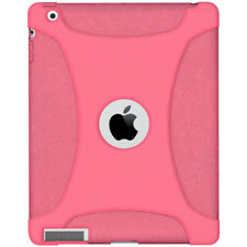 AMZER BABY PINK SILICONE RUBBER JELLY SOFT SKIN CASE COVER FIT FOR APPLE iPAD 2