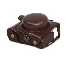 Camera Case Case for Olympus E-M10 Mark II Faux Leather Bag Coffee CC1377b