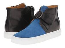 Maison Margiela Women's Blk/Blue Hi Top Sneakers Size 7