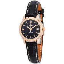 Longines The  Saint-Imier Ladies Automatic Leather Watch L2.263.8.52.3