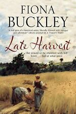 Late Harvest by Fiona Buckley (2016, Hardcover)