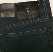 Frye Jeans Pants Mens 38×32 NWT $148.00 Black