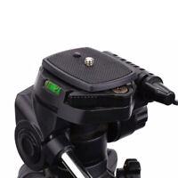 Tripod Quick Release Plate Screw Adapter DSLR SLR Digital Camera Mount Head Q