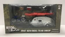Greenlight 1:24 Hitch & Tow Trailers 1947 Ken-Skill Teardrop Trailer Camping