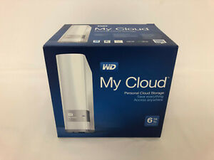 WD My Cloud 6TB Personal Storage - Gigabit Western Digital Network Drive / HDD
