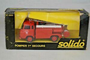 SOLIDO nº 807 RENAULT g260 camion avec tierwagen circus Pinder