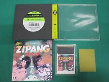 NEC PC Engine -- ZIPANG -- JAPAN GAME Clean & Work fully 11189