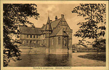 Havixbeck Münsterland AK ~1920/30 Schloss Hülshoff Wasserschloss Burg Gebäude