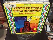 Don Fardon Lament of the Cherokee Indian Reservation vinyl LP EX 1967 STEREO