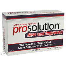 PROSOLUTION PILLS 1 Month Male Enhancement BIGGER HARDER Enlargement