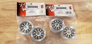 Set of 4 new in package Traxxas RC car satin finish rims #4872