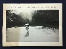 NUMBER Something or anything in cityscape 1973 Japanese Photobook
