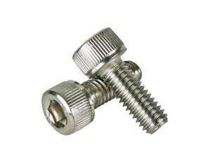 Bicycle Hardware Bolts Origin8 Allen Stainless Steel M6 x 20 Bag/10 Bike Parts