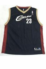 Lebron James Cleveland Cavaliers Youth XL Blue VTG Reebok Jersey NBA Basketball