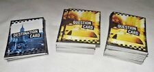 Cash Cab Game NYC Manhattan Replacement Playing Cards Token Cars Dice ONLY NEW