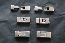 pour fabrication bijoux: fermoir aimanté 30x13mm lot de 6