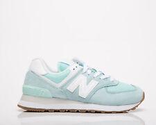 New Balance 574 женские белый мятный образ жизни спортивной обуви повседневные кроссовки