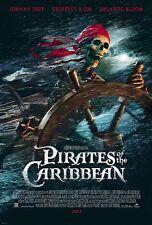 Pirates of the Caribbean - Fluch der Karibik (2003) US Import Filmplakat, Poster