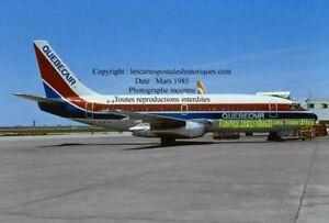 Quebec Québec boeing 737 Quebecair 1985 avion airplane aeroport  plane